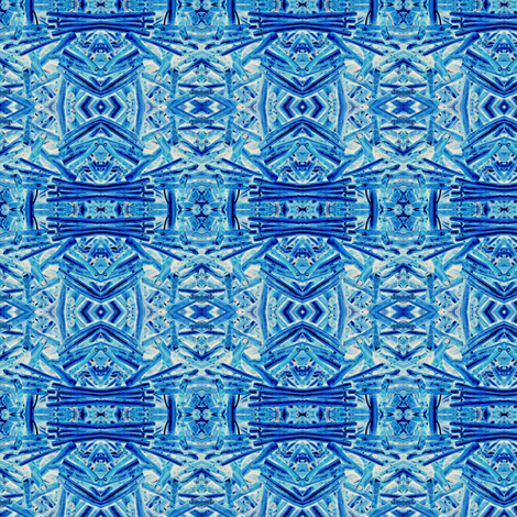 Blue Coral fabric by olivemlou on Spoonflower - custom fabric