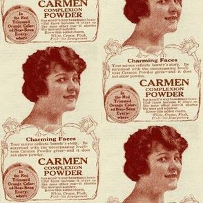 1918 Face Powder Cosmetics Ad