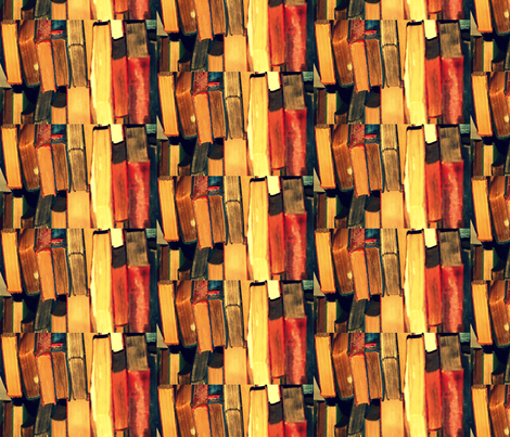 books fabric by olivemlou on Spoonflower - custom fabric