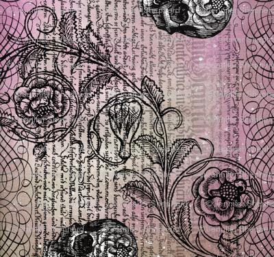 Diamond Skull Rose (Pinkish)