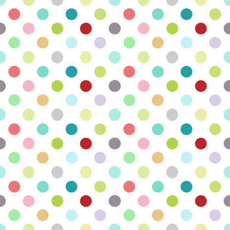 Playground dots fabric by katarina on Spoonflower - custom fabric