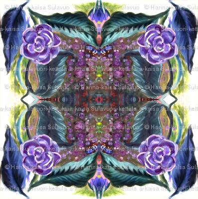 purple_painted_flower_tiled