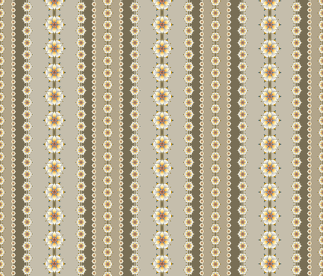 Medallion Stripe taupe fabric by joanmclemore on Spoonflower - custom fabric