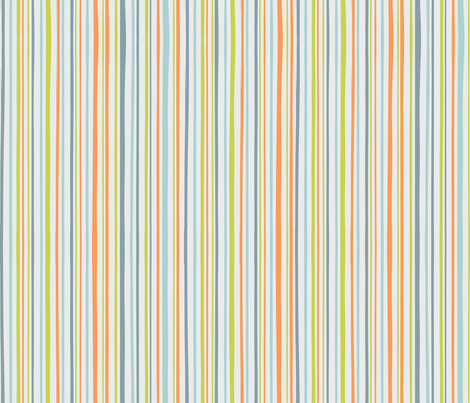 Grey_Robot_stripe fabric by amanda_lincoln on Spoonflower - custom fabric