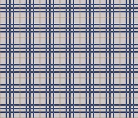 Breizh_grey_beige_blue fabric by valmo on Spoonflower - custom fabric