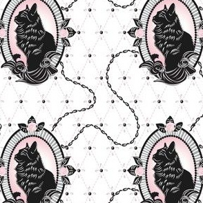 Catmeow Cameo - Pink