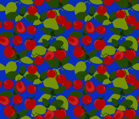 tomato basil fabric by marlene_pixley on Spoonflower - custom fabric
