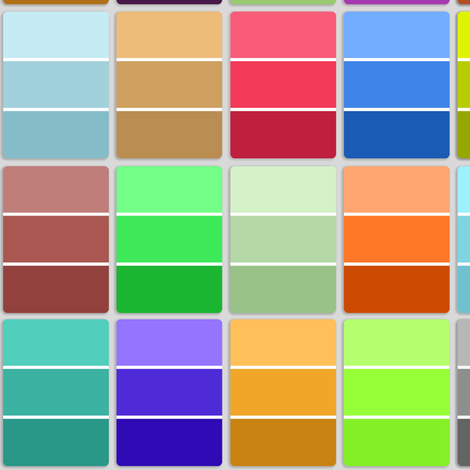 paint chips - multicolored fabric by weavingmajor on Spoonflower - custom fabric