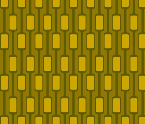 Yellow Mod Pods fabric by brainsarepretty on Spoonflower - custom fabric