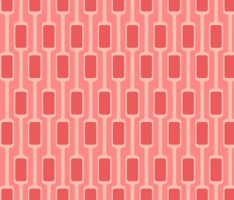 Pink Mod Pods fabric by brainsarepretty on Spoonflower - custom fabric