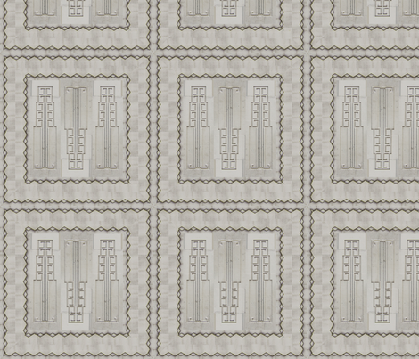 Deco_Grey WALL-3 fabric by pad_design on Spoonflower - custom fabric