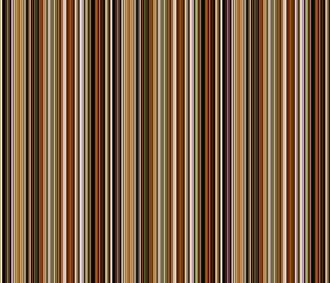Earth Tone Stripes fabric by whimzwhirled on Spoonflower - custom fabric