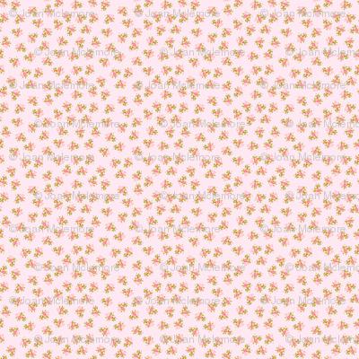 Pink Roses micro print