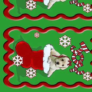 lab_puppy_Christmas_Stocking_wall_hanging