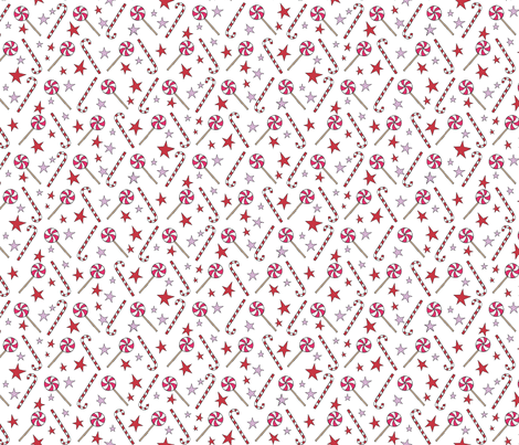 Primitive Candy Sparkle fabric by urban_threads on Spoonflower - custom fabric