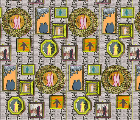 modern_cameo_tara_birmingham fabric by taramariebee on Spoonflower - custom fabric