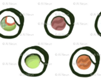 Polka Dot Sushi