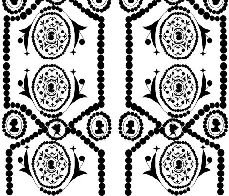 Cameo fabric by harini on Spoonflower - custom fabric