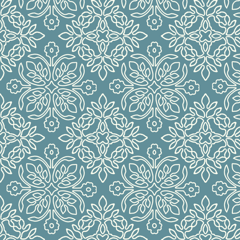 2papercuts-diagonal-outlines-MARINE-BLUE-ILLUSTR-sRGB fabric by mina on Spoonflower - custom fabric