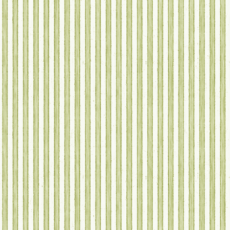 Faded French Stripe - Green fabric by kristopherk on Spoonflower - custom fabric