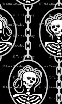 A Halloween Skeleton Cameo