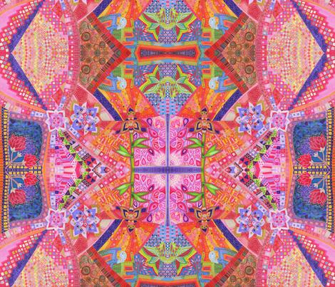 Rose fabric by lita_blanc on Spoonflower - custom fabric