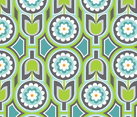 Retro Lounge 2 fabric by thepatternsocial on Spoonflower - custom fabric