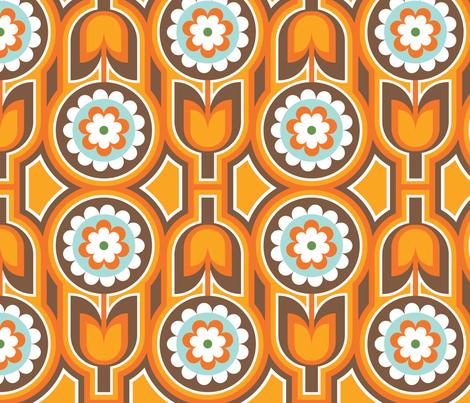 Retro Lounge 1 fabric by thepatternsocial on Spoonflower - custom fabric