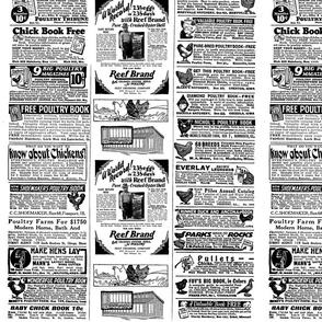 1928 Chicken Ads