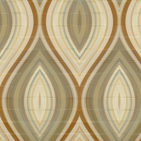 Medallion in mocha fabric by joanmclemore on Spoonflower - custom fabric