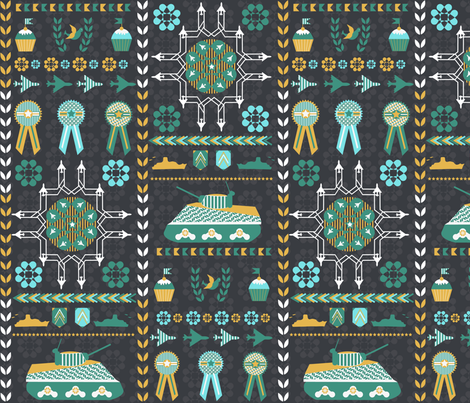 Celebration Day fabric by demigoutte on Spoonflower - custom fabric
