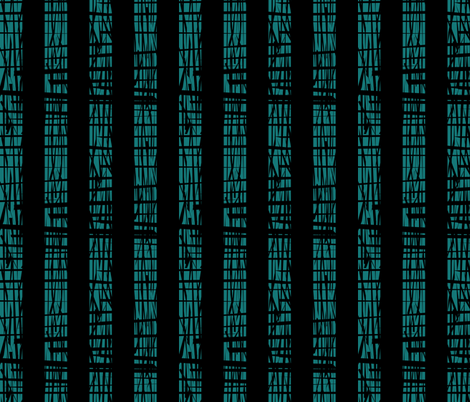 Teal Texture Stripe fabric by pond_ripple on Spoonflower - custom fabric