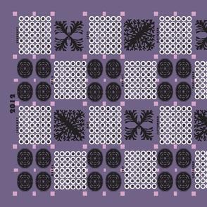 welsh blanket_2012 tea towel calendar_urchin