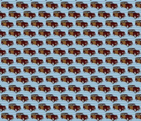edcarblue fabric by luluhoo on Spoonflower - custom fabric