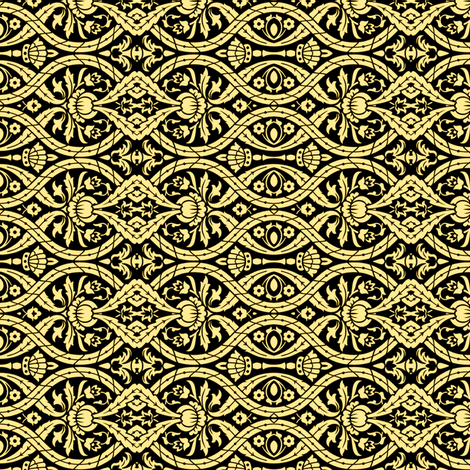 Victorian Ornament fabric by whimzwhirled on Spoonflower - custom fabric