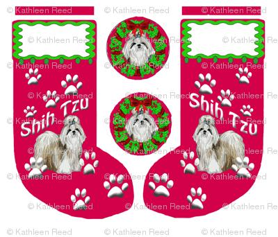 Shih_Tzu_Christmas_Stocking