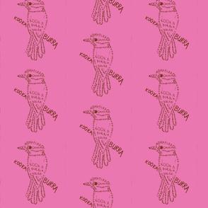 Kookaburra Calligram 4