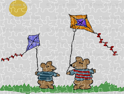 Go Fly a Kite Puzzle