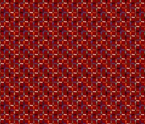 tinytiesred fabric by wendymoon on Spoonflower - custom fabric