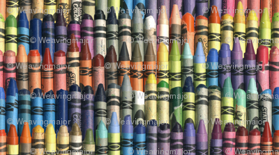 Neverending Box of Jumbo Crayons