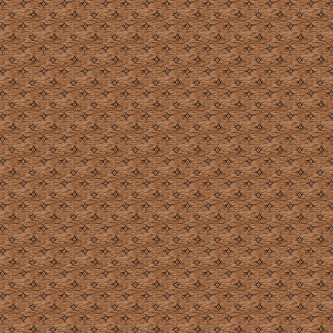 Brown diamonds fabric by the_cornish_crone on Spoonflower - custom fabric