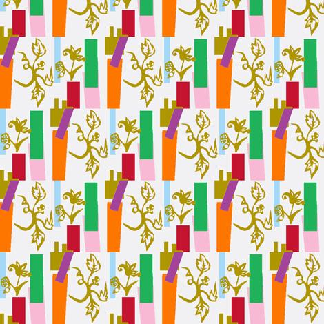 Gilt Floral fabric by boris_thumbkin on Spoonflower - custom fabric