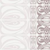 Flora Ornamental Stripe Neutral