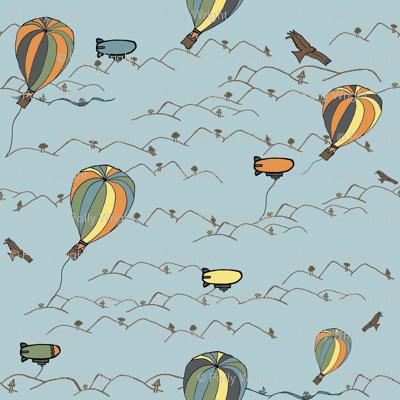 hot air balloon kites
