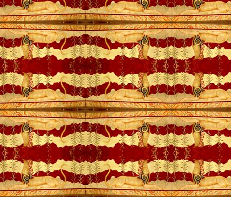 Mythical Beast fabric by robin_rice on Spoonflower - custom fabric