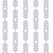 Alternating Lavender Stripes