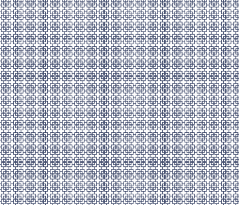 Blues: Square Screen fabric by jennartdesigns on Spoonflower - custom fabric