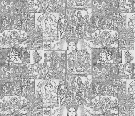 Pantheon fabric by marchhare on Spoonflower - custom fabric