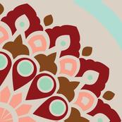 Modern Mandala - Sea Coral