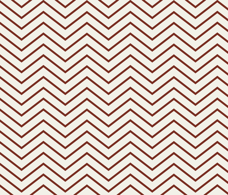 Chevron On and On: Skinny Red fabric by frontdoor on Spoonflower - custom fabric